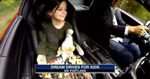 Dream Drives for Kids Exotic cars sick children charity 2
