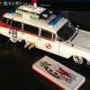 A Ghostbusters Ecto-1 NES console that's currently being auctioned off on eBay