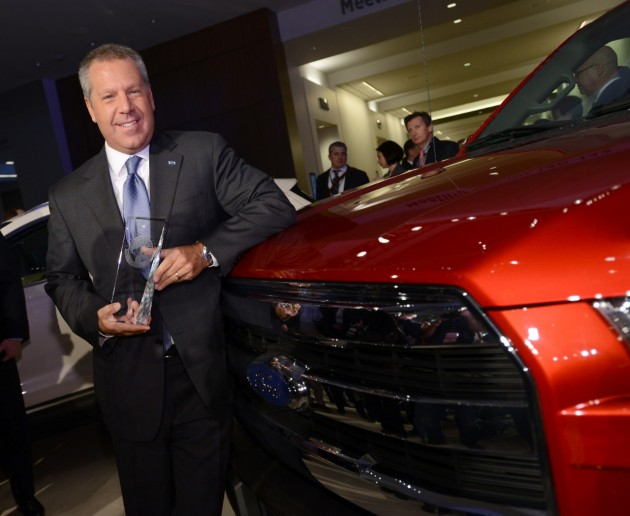 2015 F-150 Named North American Truck of the Year