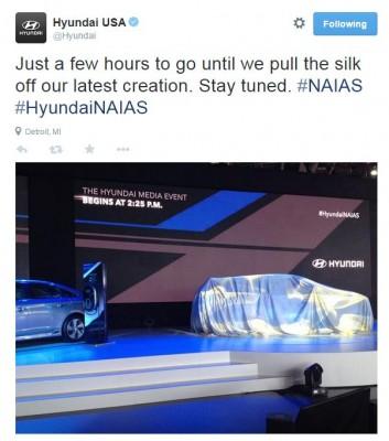 Hyundai NAIAS Tweet Detroit