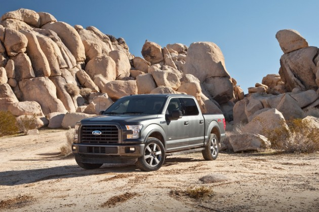 2015 Ford F-150 Named Truck Trend's 2015 Pickup Truck of the Year