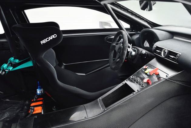 Lexus RC F GT3 Concept Interior