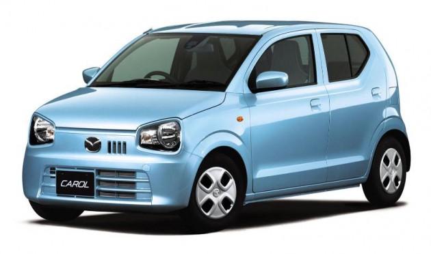 Mazda Carol released blue