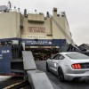 2015 Mustang being exported to Asia