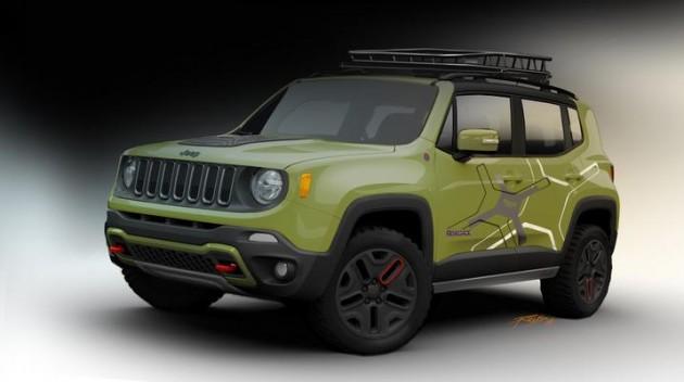 Mopar at the Detroit Auto Show | Off-Road Jeep Renegade