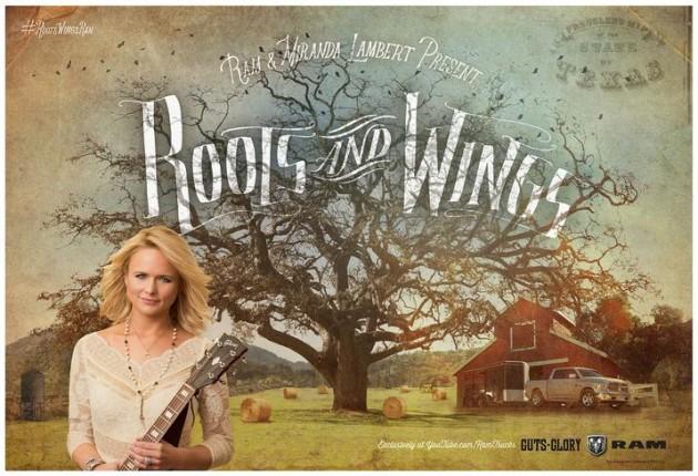 Miranda Lambert Roots and Wings Ram Trucks