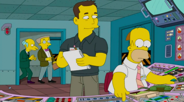 Elon Musk on The Simpsons: The Tesla and SpaceX CEO bankrupts Springfield in an episode that rips off one of the show's all-time classics