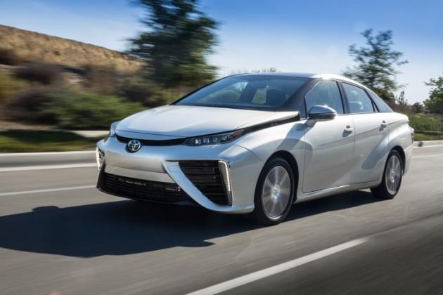 Toyota Mirai fuel economy