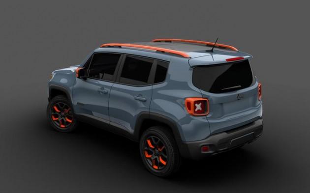 Mopar at the Detroit Auto Show | Urban Jeep Renegade