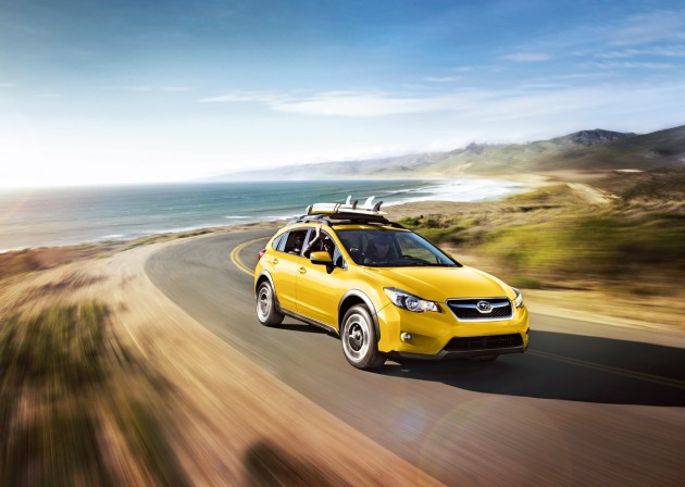 Only 1,000 of these 2015 Subaru  XV Crosstrek Special Edition models are being produced