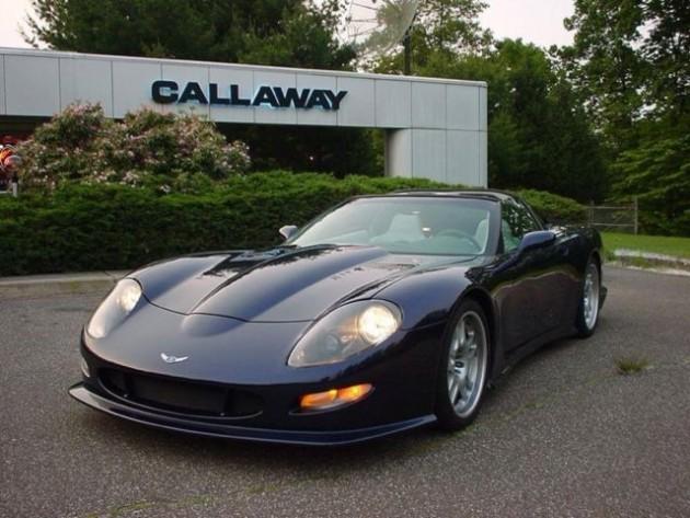 Dale Earnhardt Jr.'s 1999 Corvette Calloway C12