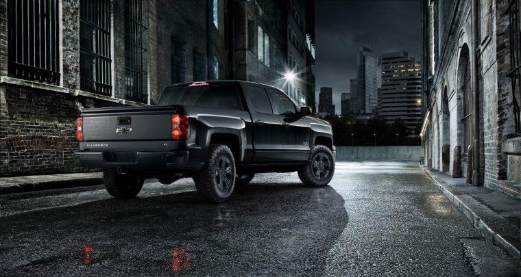 Chevy's all-black Midnight special edition Silverado