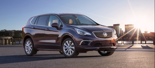Buick Envision 2014 Buick Global Sales