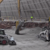 Still from the most recent National Corvette Museum sinkhole video update