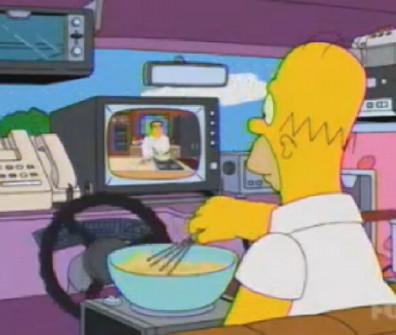 Homer Simpson car acessories