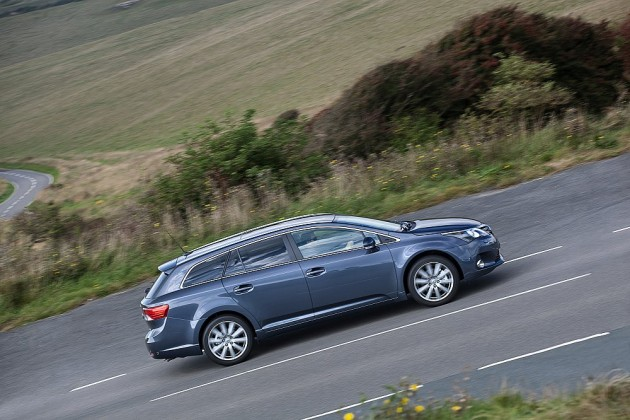redesigned Toyota Avensis wagon
