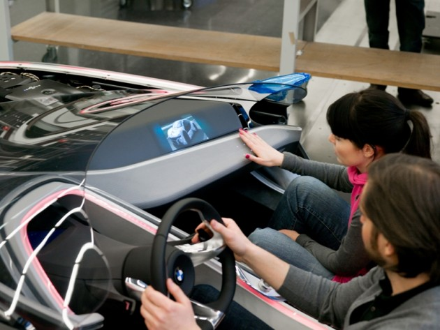 Developing the BMW Vision ConnectedDrive, used for BMW's X-Ray Glasses see through car
