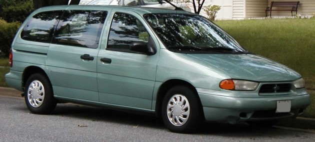 Ford Windstar in Medium Seafoam Metallic | Ugliest Car Colors