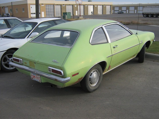 Light Green Ford Pinto | Ugliest Car Colors