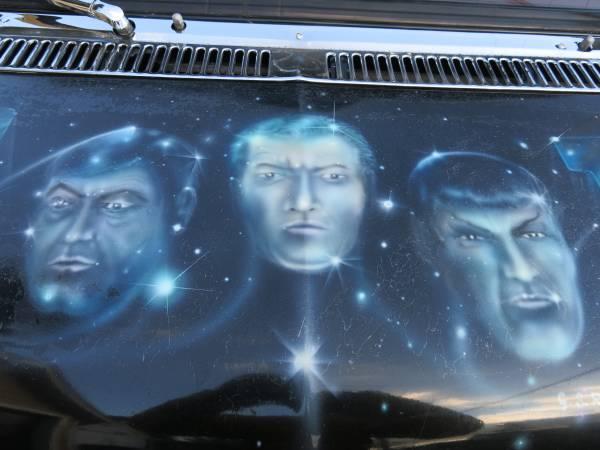 """1978 GMC G15 Vandura Star Trek """"Boogie"""" Van 3"""