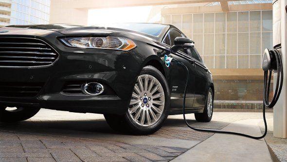 2017 Ford Fusion Energi Plug In Hybrid