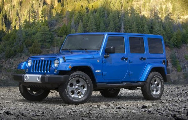 2015 Jeep Wrangler Unlimited | 5-Year Cost to Own Awards