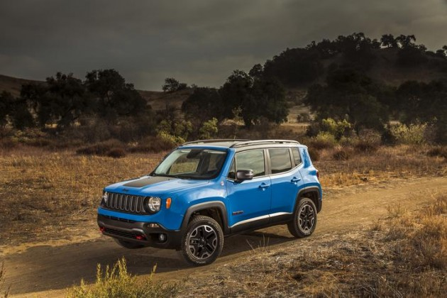 2015 Jeep Renegade: Fiat Chrysler Automobiles at the 2015 New York International Auto Show