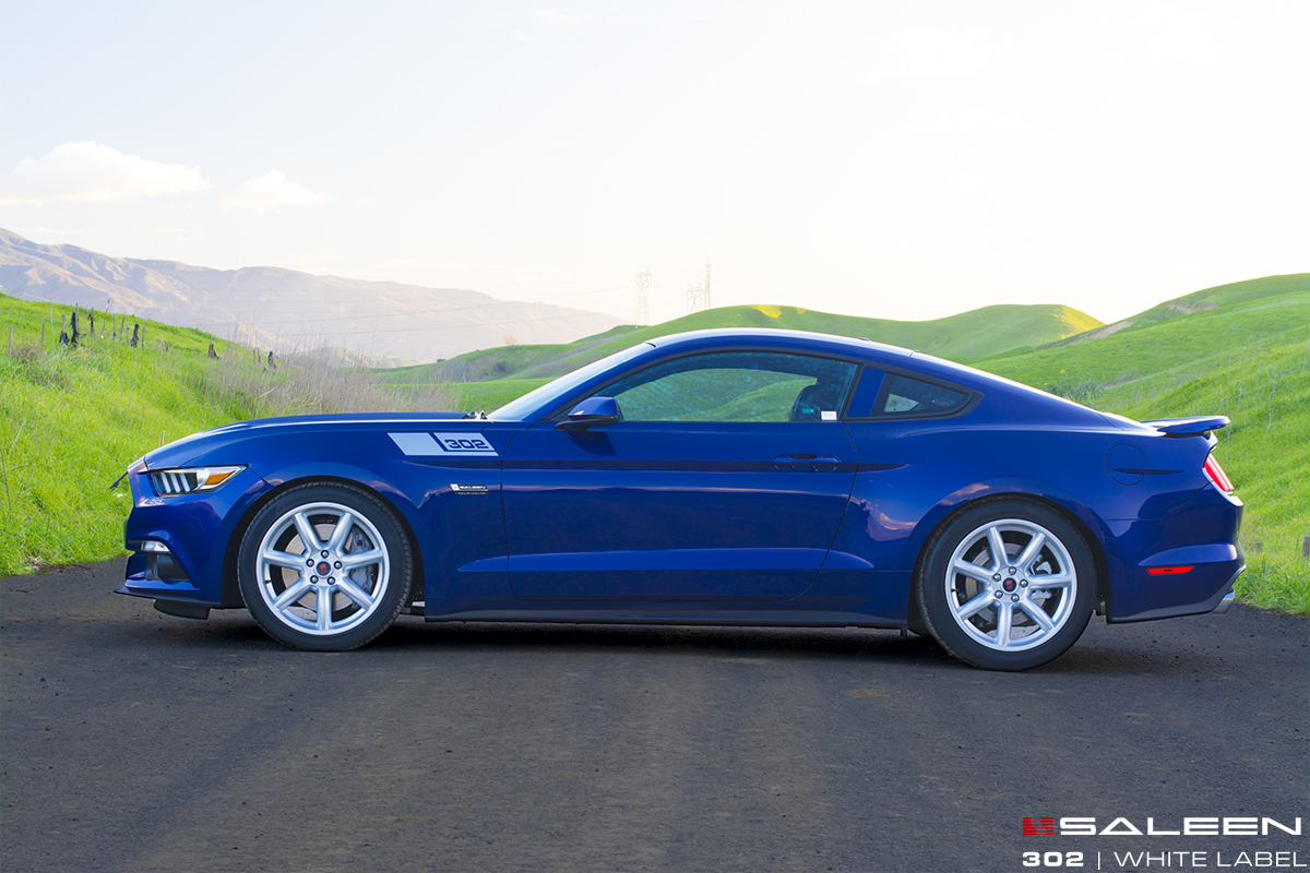 First 2015 Saleen 302 Mustang White Labels Shipping Now