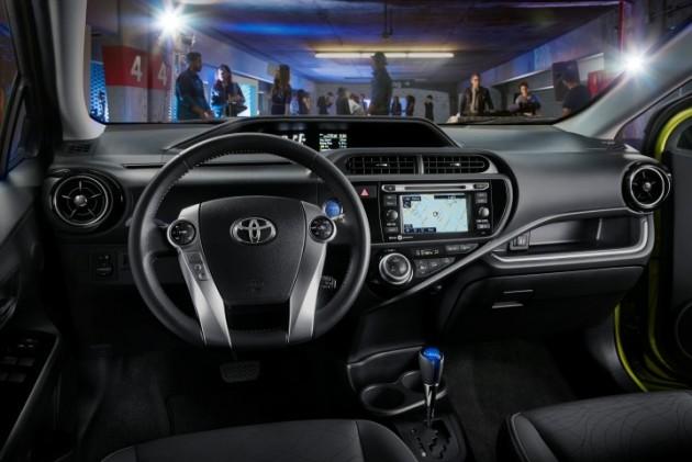 2015 Toyota Prius c Overview