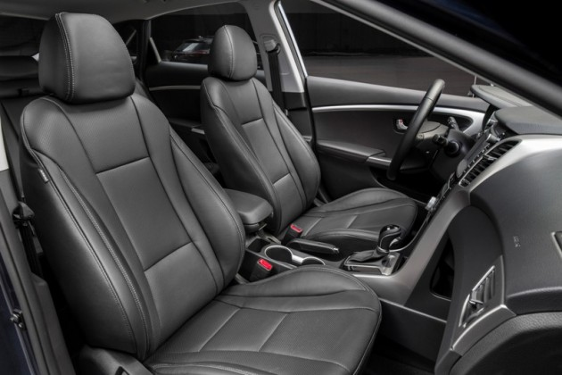 2016 Hyundai Elantra GT Overview grey interior seats