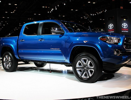 2016 Toyota Tacoma Pricing Information Leaked - The News Wheel