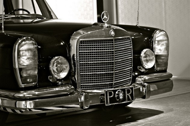 Mercedes-Benz 600 S Pullman, Black rather than red like the 1972 Red Baron