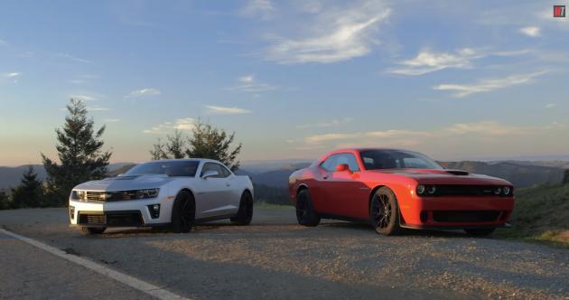 Chevy Camaro ZL1 vs Dodge Challenger Hellcat