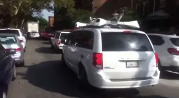 Could this Dodge Grand Caravan signal the advent of Apple's self-driving cars?