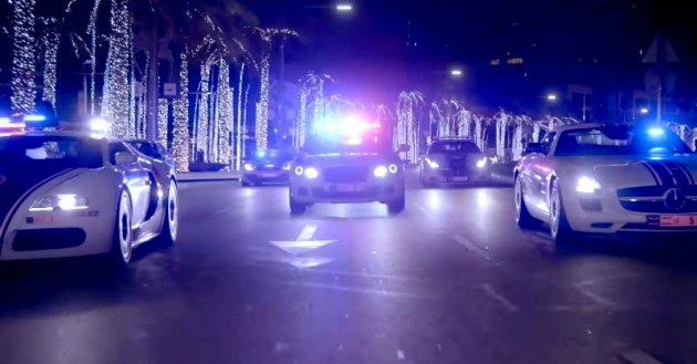 Dubai Police Force's Supercar Squad Catch Criminals