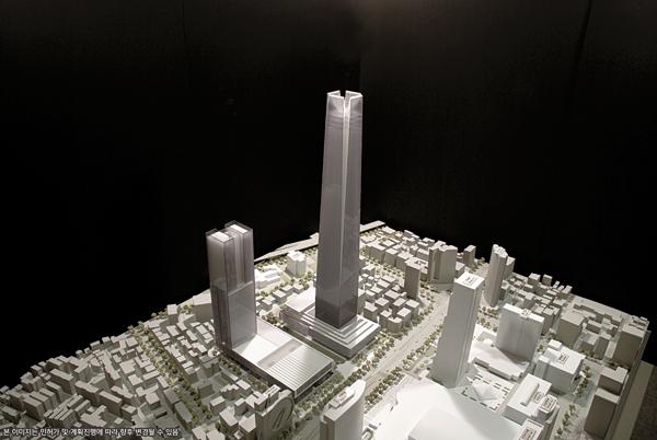 Hyundai Erecting Korea's Tallest Skyscraper in Gangnam District 115 story