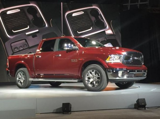 2015 Ram Laramie Limited: Fiat Chrysler Automobiles at the 2015 New York International Auto Show