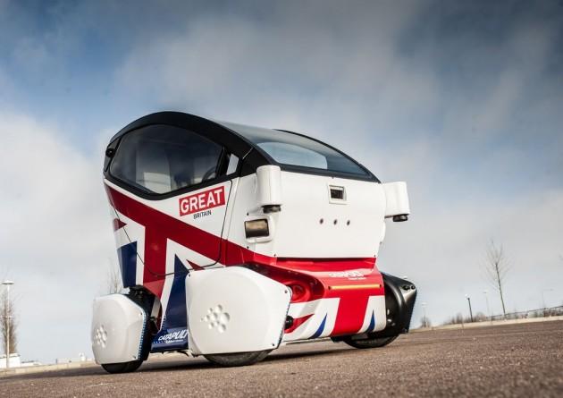 Lutz Pathfinder driverless car