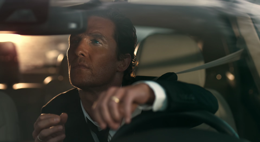 Matthew McConaughey Notices the Sun for the First Time