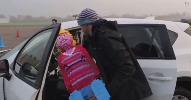 Mazda Mega Bloks commercial 3 Does This Building Blocks Family Fall Apart over the 2015 Mazda CX-5