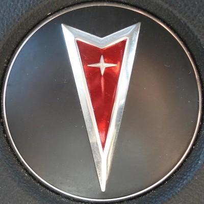 Pontiac logo current emblem red arrow
