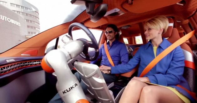 Rinspeed's Autonomous BMW i3 Budii