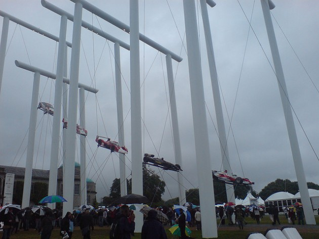 Toyota Sculpture at the 2007 Goodwood Festival of Speed via Flickr