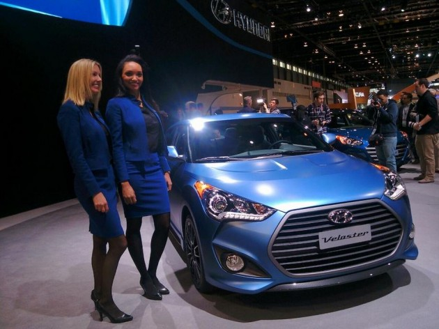 Veloster Rally Edition at Chicago Auto Show