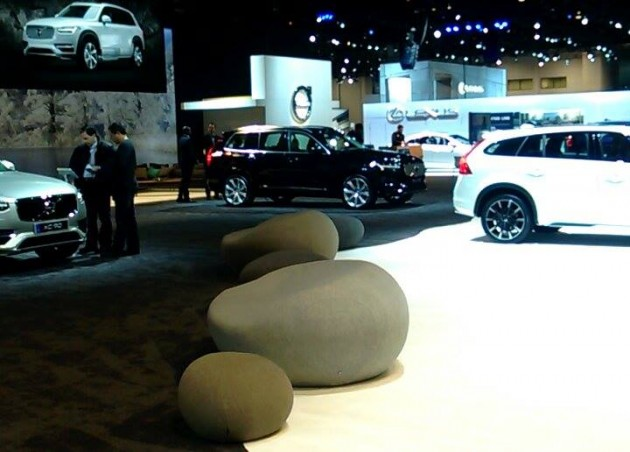 Volvo at the 2015 Chicago Auto Show