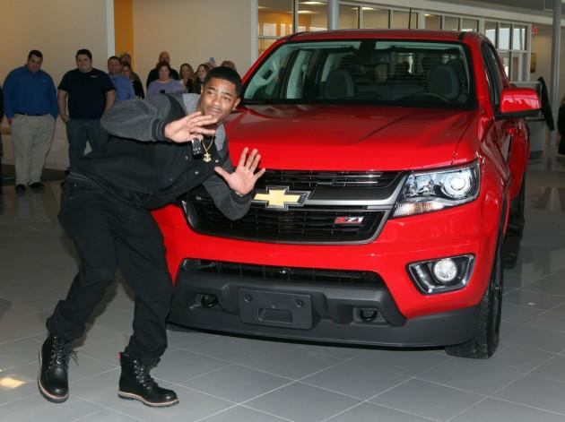 Chevrolet gives 2015 Colorado to Malcolm Butler