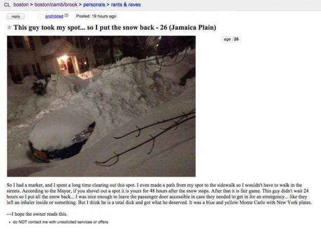 Boston Uber driver's craigslist post