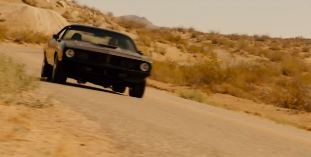Furious 7 Plymouth Barracuda