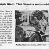 Frank Llyod Wright Penis Car