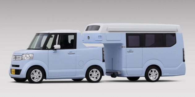 This Honda N-TRUCK/N-CAMP concept will be featured at the Japan Camping Car Show 2015